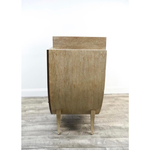 Vintage Cerused Oak Chest of Drawers For Sale - Image 9 of 11