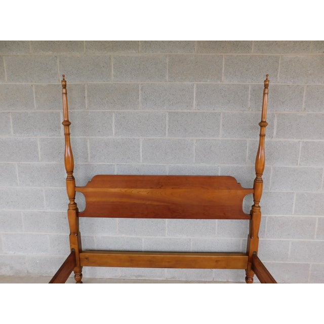 Features Quality Solid Construction, Full Size, - Circa 1950's) Good Condition, original finish, - see all photos - may...