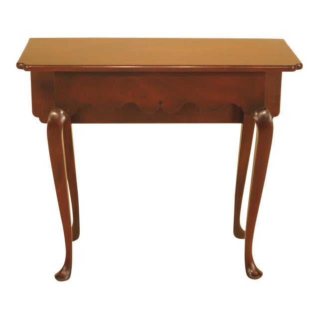 Kittinger Drop Leaf Williamsburg Occasional Table For Sale