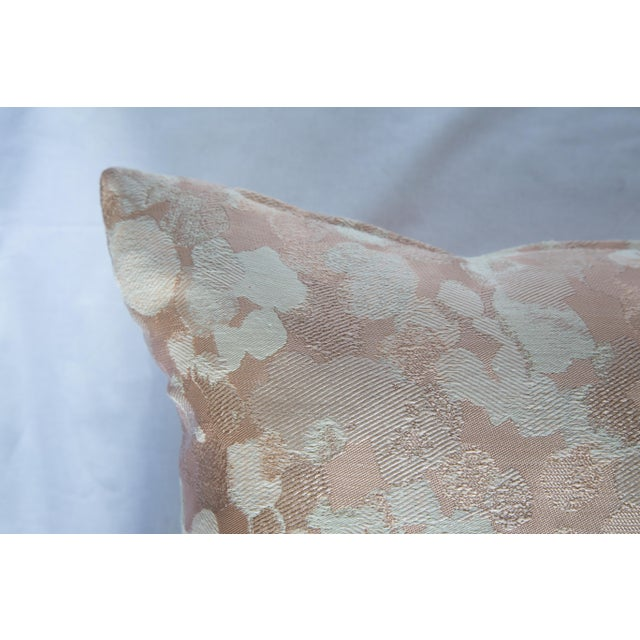 Iridescent Rose Gold Pillow For Sale - Image 4 of 8