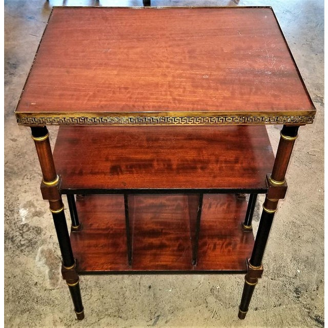 Empire Style Canterbury Side Table For Sale - Image 4 of 13