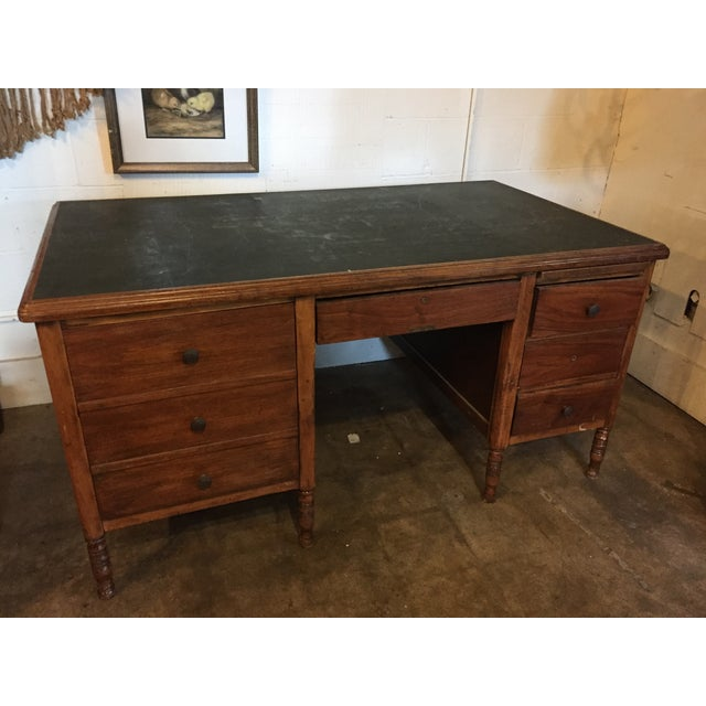 We find this desk intriguing and functional ... while he's missing two of the uber-groovy pentacle iron pulls, he's far...