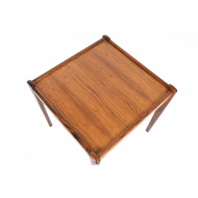 Danish Modern Rosewood Side Tables - A Pair - Image 5 of 6