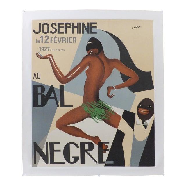 Vintage Josephine Au Bal Negre Poster For Sale