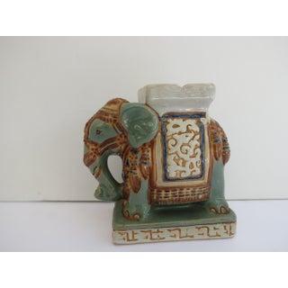 Mid Century Ceramic Elephant Ashtray Preview