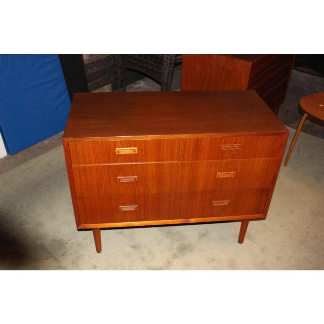 Lyby Mobler Mid-Century Danish Modern 4 Drawer Dresser - Image 2 of 6