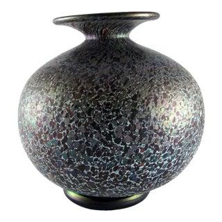 "1976 Kosta Boda Hand Blown ""Baghdad"" Glass Vase For Sale"