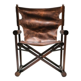 Carlo Hauner PL 22 Armchair in Jacaranda for Oca For Sale