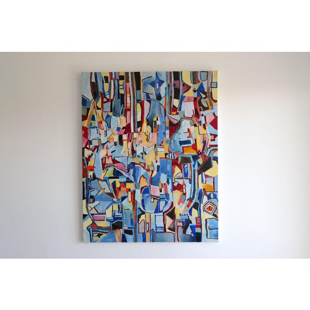 "2000 - 2009 Jeremie Iordanoff ""Untitled 248"", Painting For Sale - Image 5 of 7"