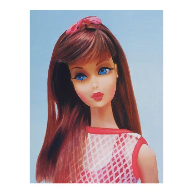 """""""Twist 'N Turn"""" Barbie Oil Painting For Sale"""