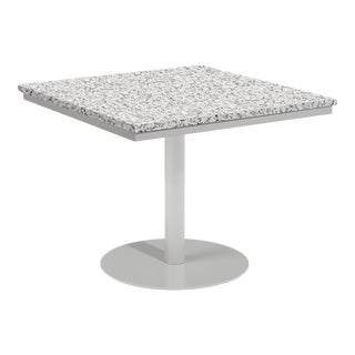 """38"""" Square Outdoor Bistro Table, Ash For Sale"""