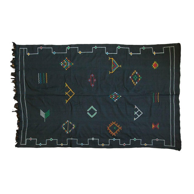 New Kilim Carpet - 6' X 9' For Sale - Image 9 of 9