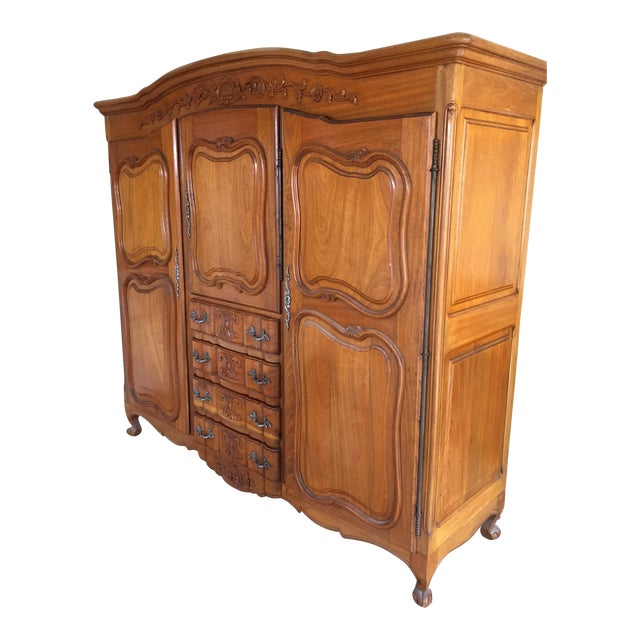 Antique French Wardrobe - Image 1 of 4