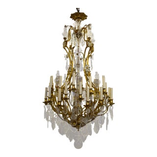 Antique Baccarat chandelier For Sale