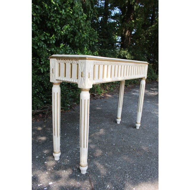 Swedish Console Table For Sale In Atlanta - Image 6 of 7