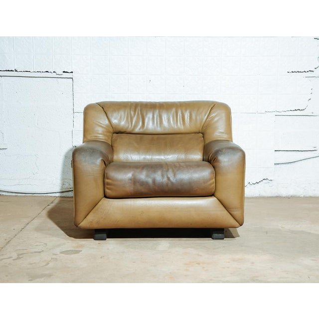 Brutalist Vintage 70's De Sede DS-43 Lounge Chair For Sale - Image 3 of 11