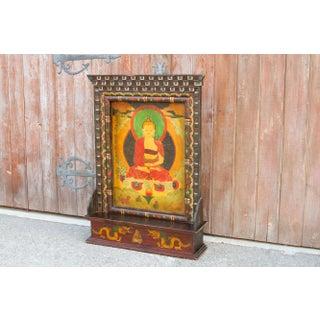 Antique 20th Century Tibetan Buddha Shrine Preview