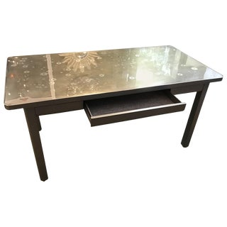 Industrial Military Style Steel Writing Desk