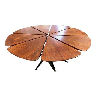 Knoll Coffee Petal Coffee Table For Sale