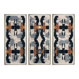 Abstract Trowbridge Galleries Rolling Stone Mick Jagger Wall Decor Art - 3 Pieces For Sale