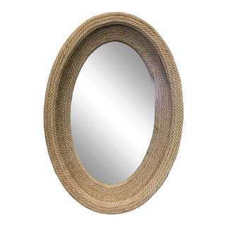 Contemporary Spanish Handmade Rope Mirror For Sale