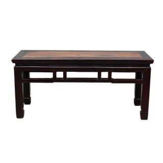 19th Century Antique Chinese Bench For Sale