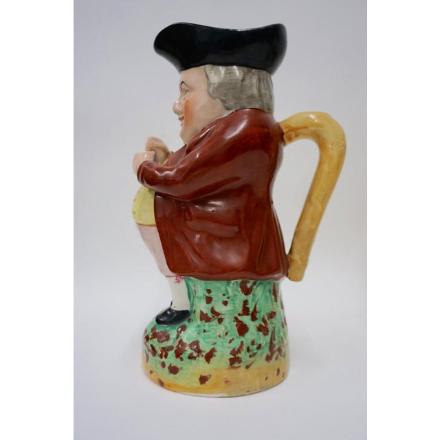 Ceramic Punch and Judy Staffordshire Toby Jugs - Set of 4 For Sale - Image 7 of 11