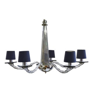 "Donghia ""Stellare"" Lead Color Chandelier"