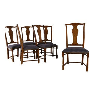 Baker Chippendale Style Dining Chairs - Set of 6