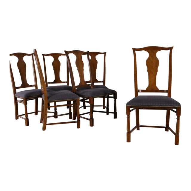 Baker Chippendale Style Dining Chairs - Set of 6 For Sale