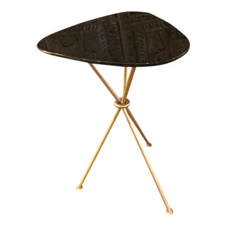 Modern Mitchell Gold & Bob Williams Tripod Side Table For Sale