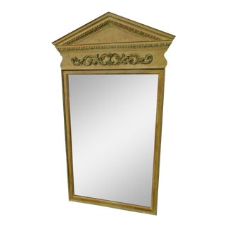 French Painted Wall Bathroom Vanity Mirror For Sale