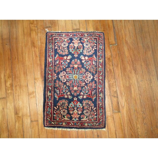 Vintage Persian Rug - 1'7'' x 2'6'' - Image 2 of 4