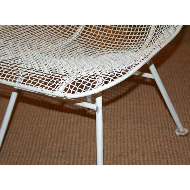 Woodard Jet Age Wire Mesh Outdoor Chairs - Set of 24 For Sale In New York - Image 6 of 10