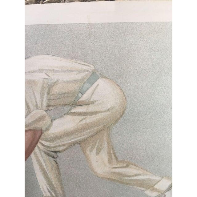 Digby Loder Jephson Vanity Fair Cricket Print - Image 4 of 5