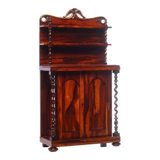 19th C. English Cabinet of Small Size For Sale