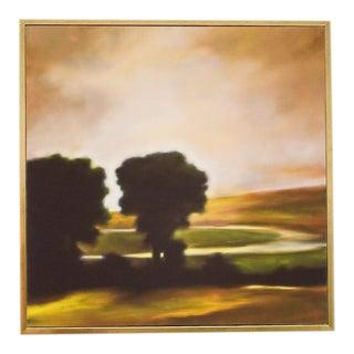 Ojai Landscape, Oak Stand in Rain #3 For Sale