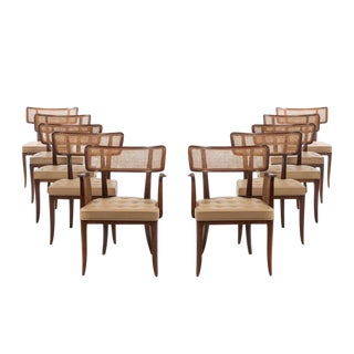 Edward Wormley Set of 10 Dining Chairs For Sale
