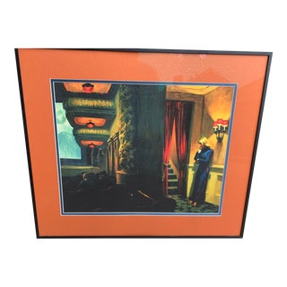 Framed Movie Theatre Poster For Sale