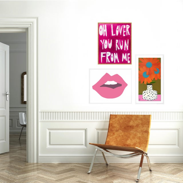 Contemporary Young Love Gallery Wall, Set of 3 For Sale - Image 3 of 11