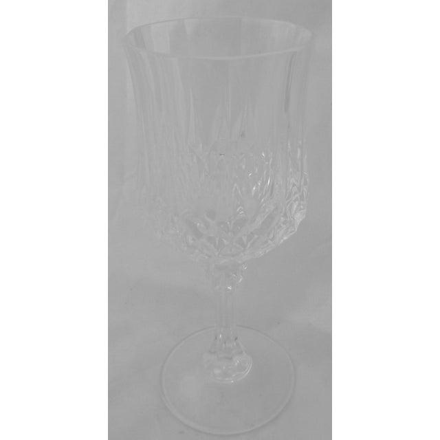 Vintage French Crystal Wine Glasses - Set of 8 - Image 4 of 6