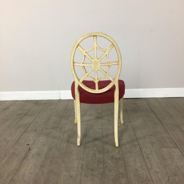Hand Painted Side Chair - Image 9 of 10