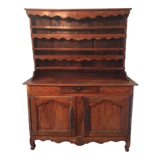 19th Century French Hutch Credenza Buffet For Sale