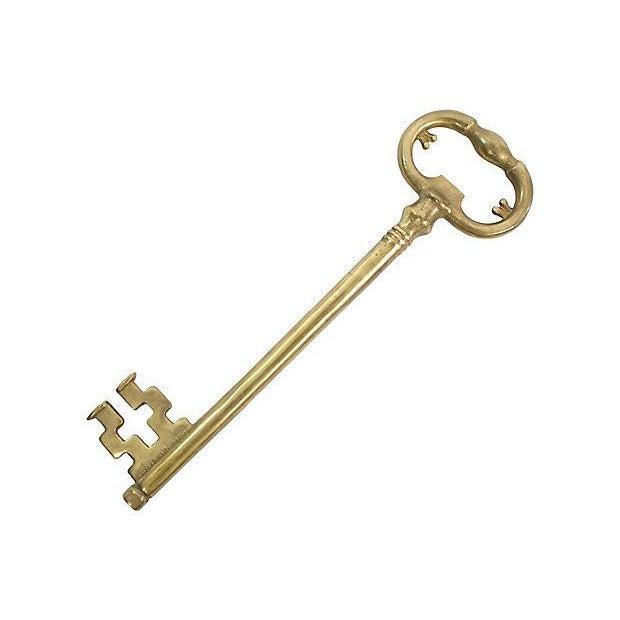 Hollywood Regency Skeleton Key Bottle Opener For Sale - Image 3 of 4