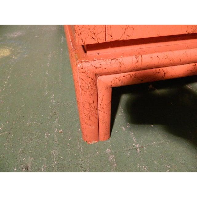 Vintage Ficks Reed Coral Sideboard - Image 9 of 11