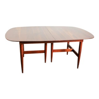 Antique Willet Transitional Cherry 9-Foot Dining Table For Sale