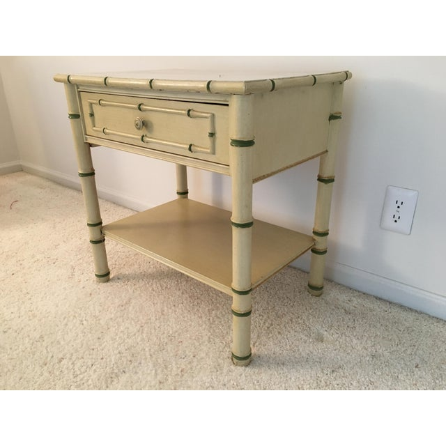 Thomasville Palm Beach Regency Faux Bamboo Dresser Thomasville For Sale - Image 4 of 8