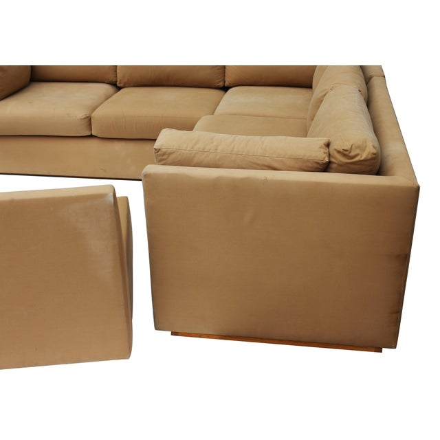 Modern 3-Piece Sectional Sofa For Sale - Image 9 of 10