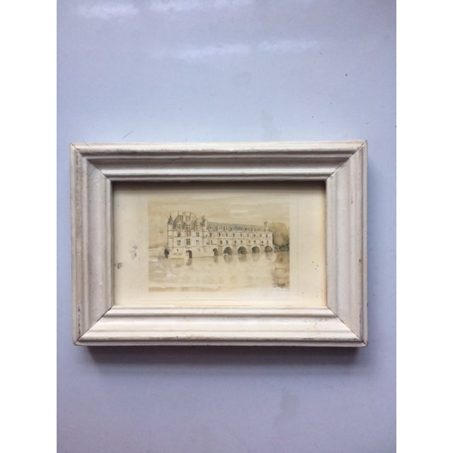White Petitie Framed Art From Paris For Sale - Image 5 of 5