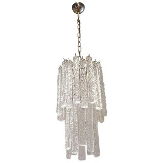 20th Century Mazzega Chandelier For Sale